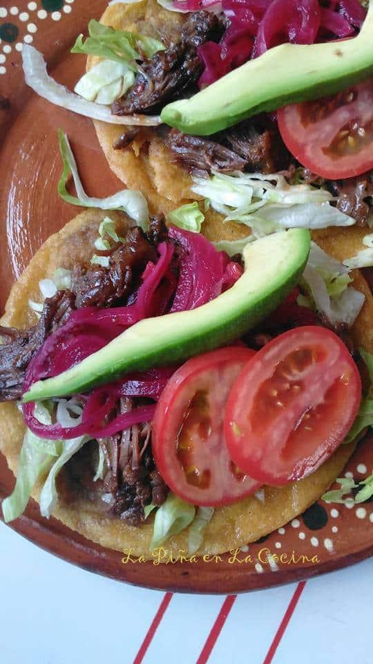 Beef Short Rib Panuchos