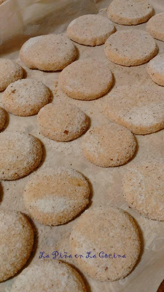 Hojarascas-Mexican Shortbread Cookies