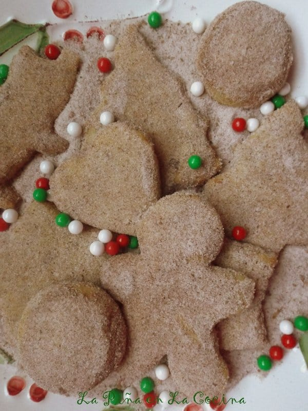 Hojarascas-Pan de Polvo-Mexican Shortbread Cookies