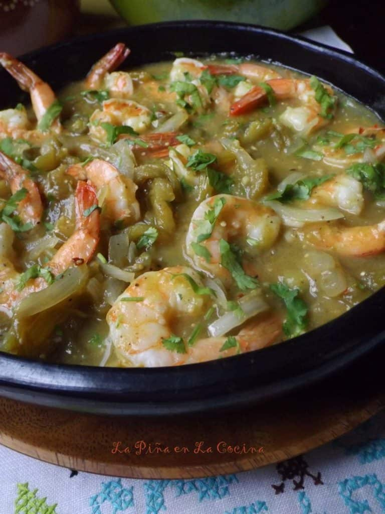 Shrimp Chile Verde