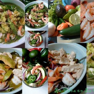 Fish and Shrimp Ceviche