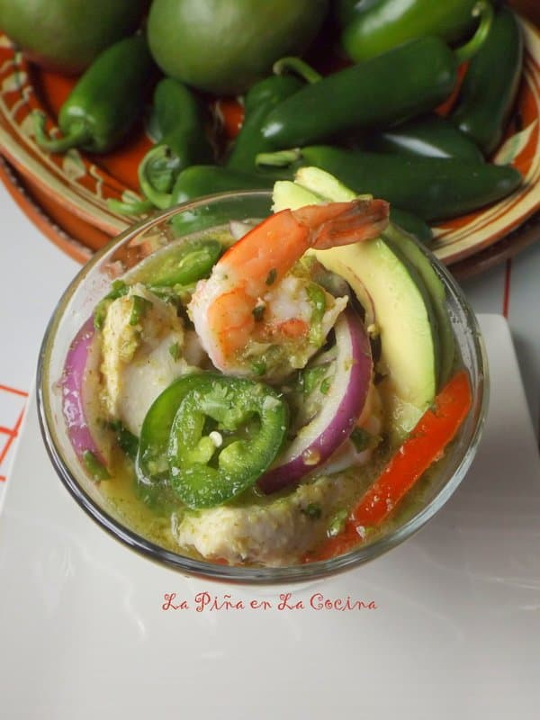 Fish and Shrimp Ceviche(Cebiche)
