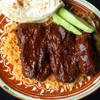 Costillas de Puerco Al Horno (Oven Roasted Pork Ribs)