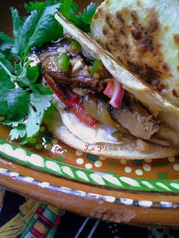Grilled Mushroom Tacos