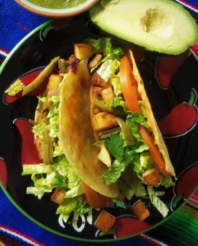 Crispy Mushroom Tacos