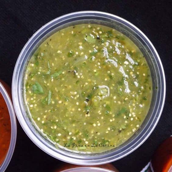 Salsa Verde-Tomatillo Salsa
