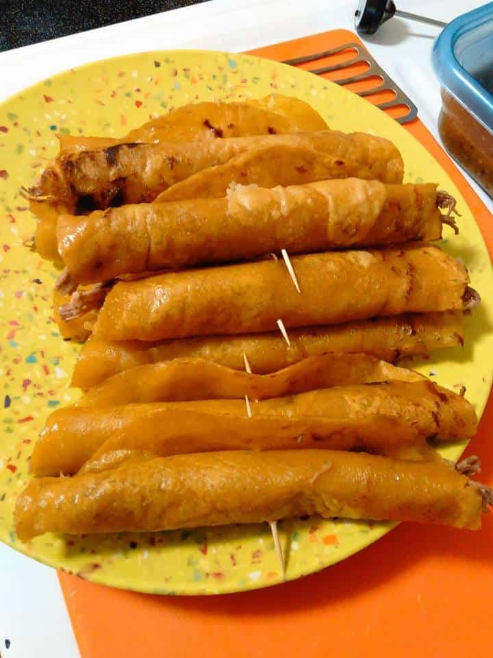 Shredded Brisket Flautas-Flautas Estilo de La Romero Rubio