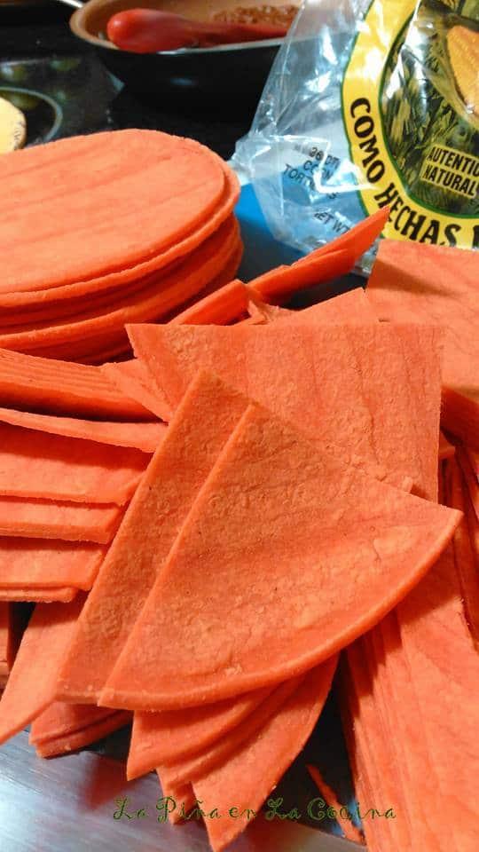 Tortillas Rojas-Homemade Chips