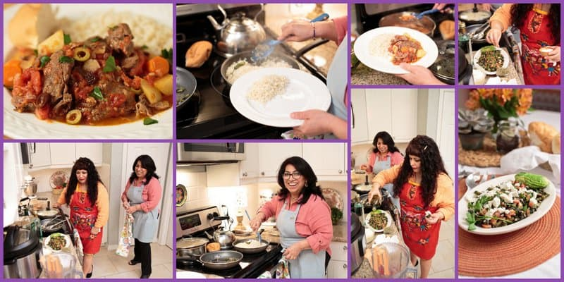 Mely and I Cooking 3. Lunch With Mely #rumbameats