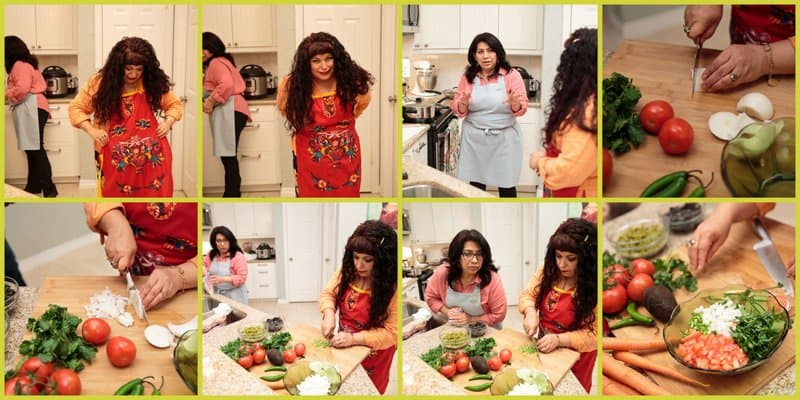 Mely and I Prepping. Lunch With Mely #rumbameats