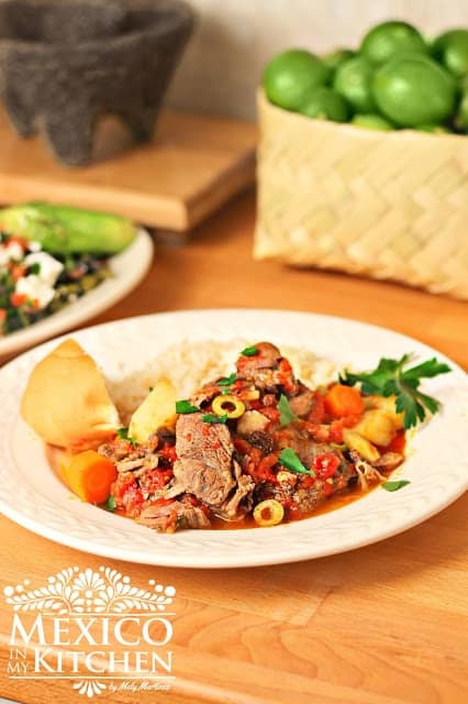 Mexican Beef Stew #mexicoinmykitchen #rumbameats