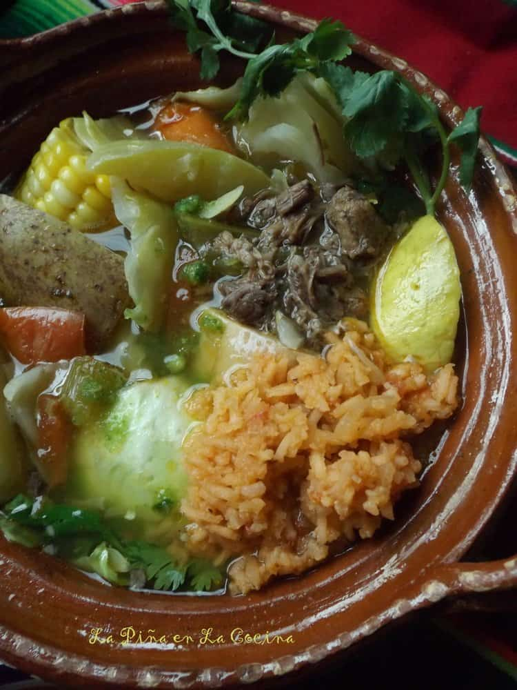 Caldo de Res-Mexican Style Beef and Vegetable Soup