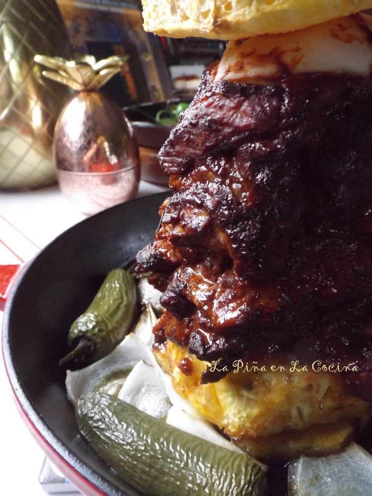 Oven Roastedo Pork Al Pastor