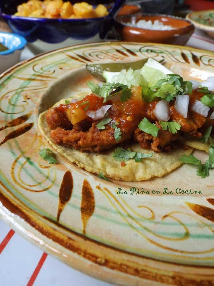 Oven Roasted Pork Al Pastor