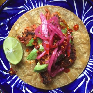 Blackened Salmon Tacos