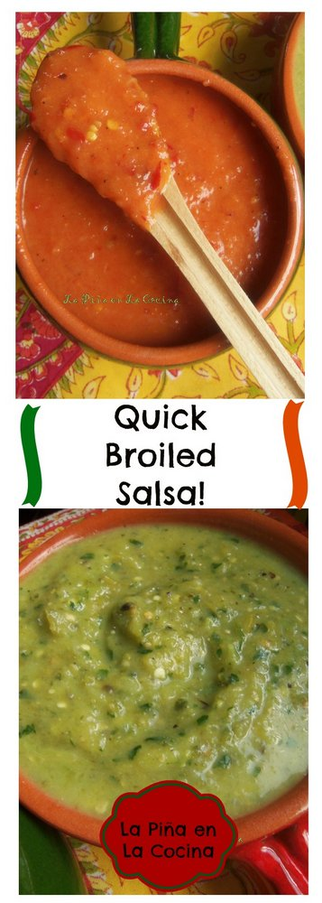Quick Broiled Salsa