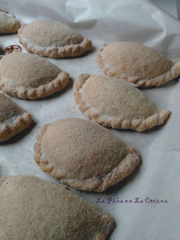 Soft Dulce de Leche Empanadas