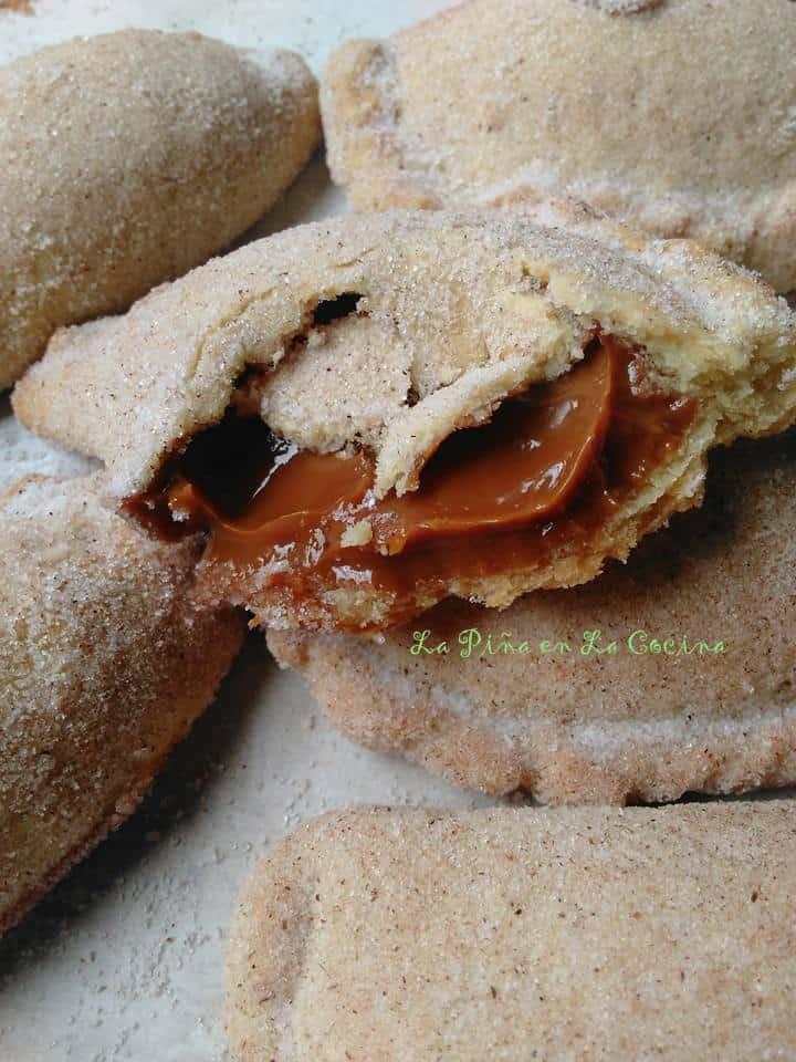 Soft Dulce de Leche Empanadas-Cajeta