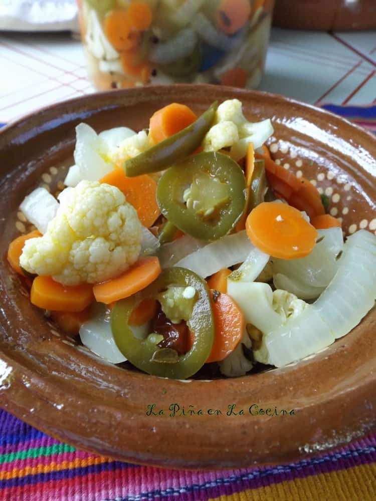 Escabeche with Cauliflower