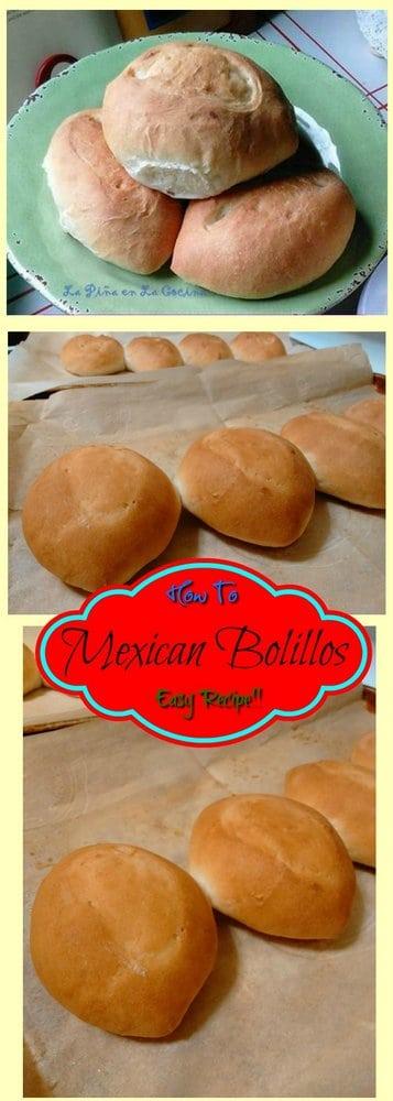 Mexican Bolillos