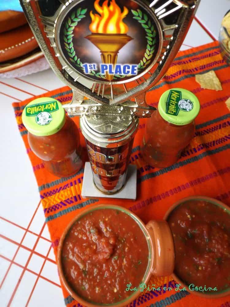 Restaurant-Style Salsa. Easy Tomato Jalapeño Salsa
