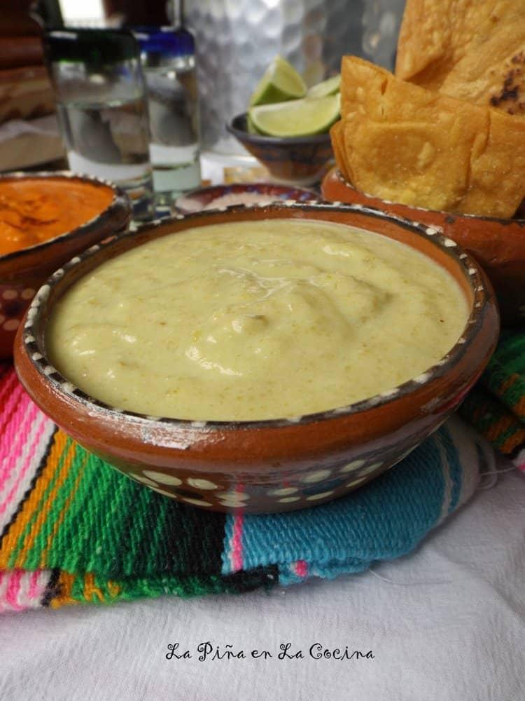 Green Chile Spicy Taqueria-Style Salsa