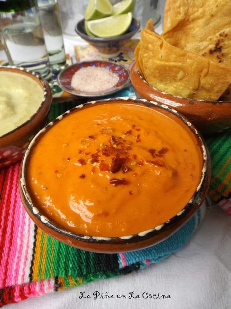Red Chile Spicy Taqueria-Style Salsa