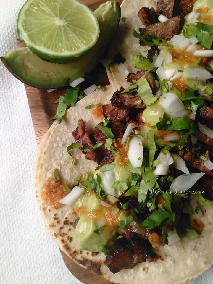 Smoked Chuck Roast Tacos