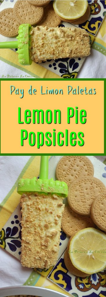 Lemon Pie Popsicles Pinterest Image
