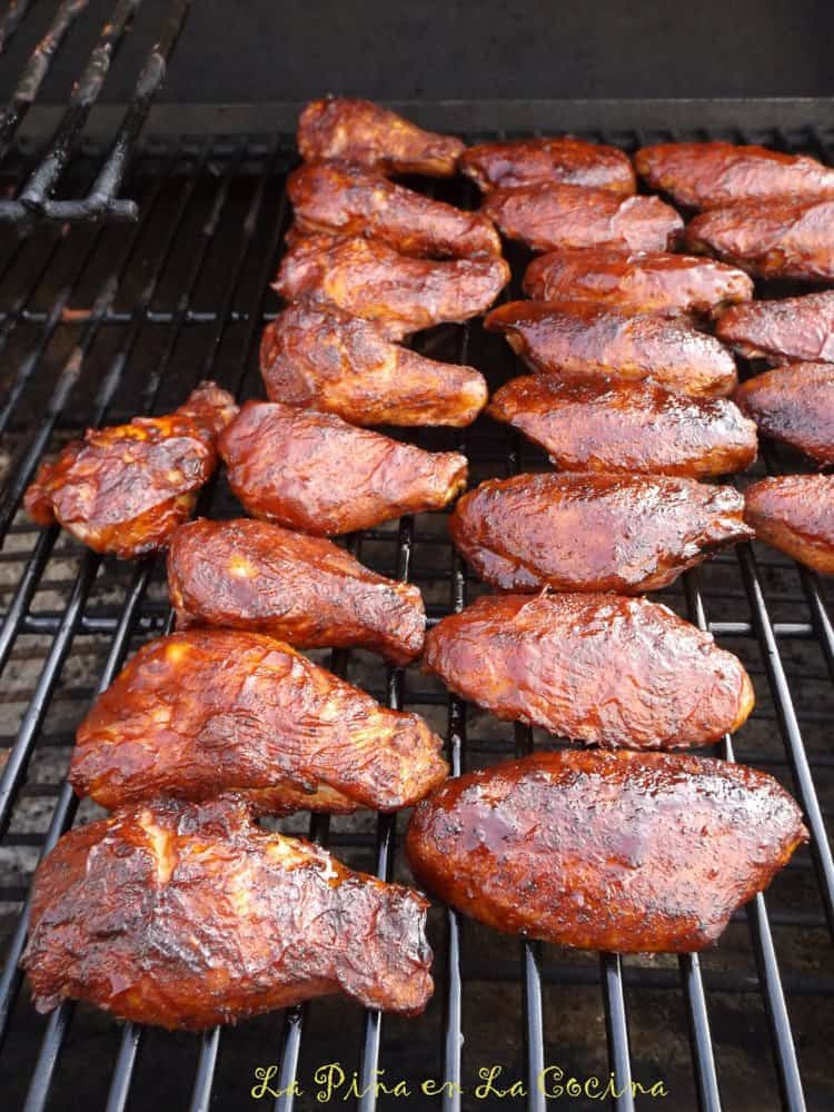 Smoky Char Grilled Chicken Wings