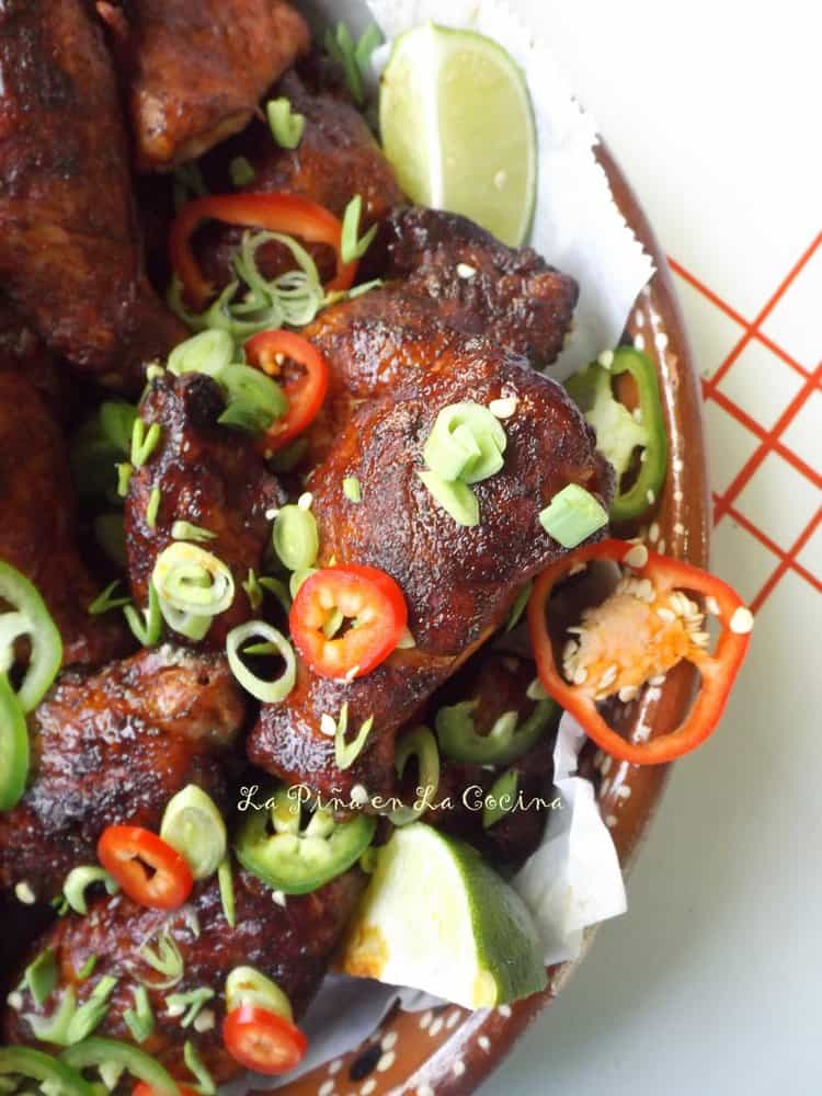 Smoky Char-Grilled Chicken Wings!