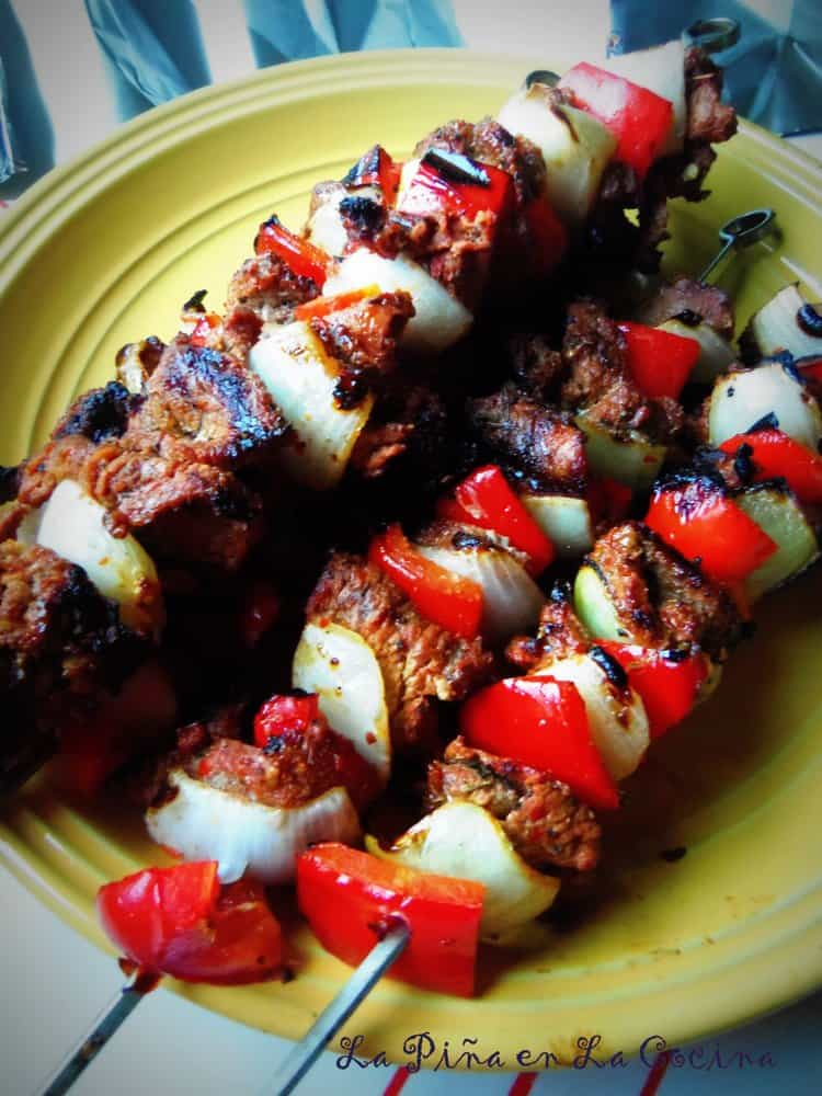 Alambres-Grilled Beef Kabobs