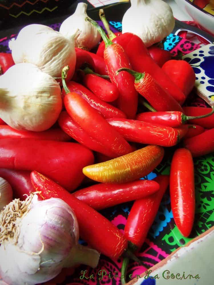 Red Serranos and Fresnos