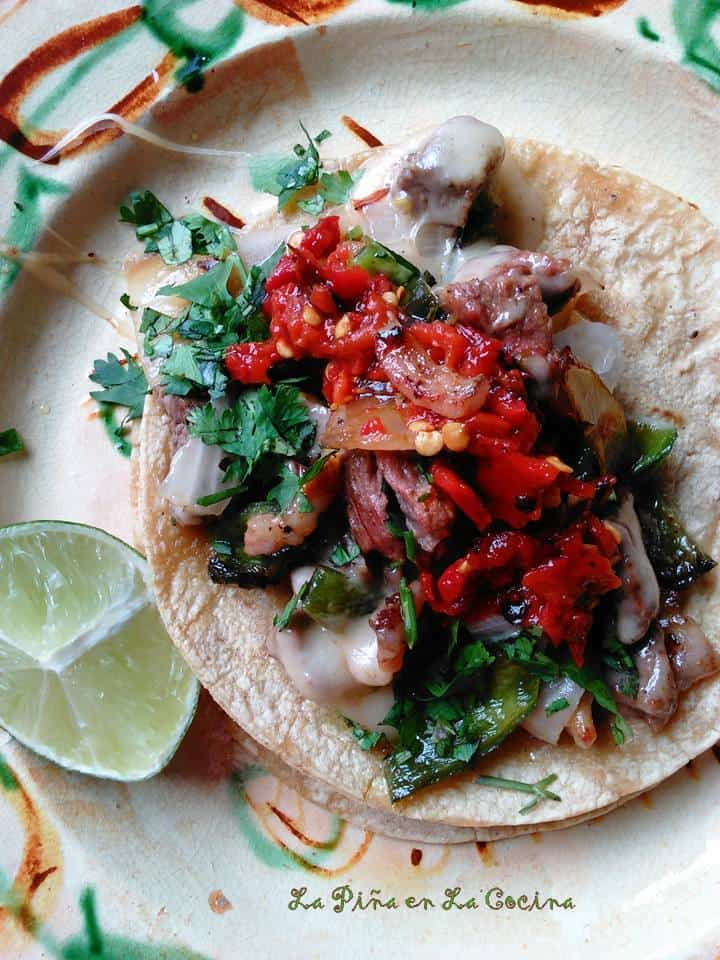 Tacos de Alambre-Grilled Beef Tacos