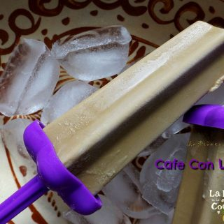 Café Con Leche Paletas (Coffee Flavored Popsicles)