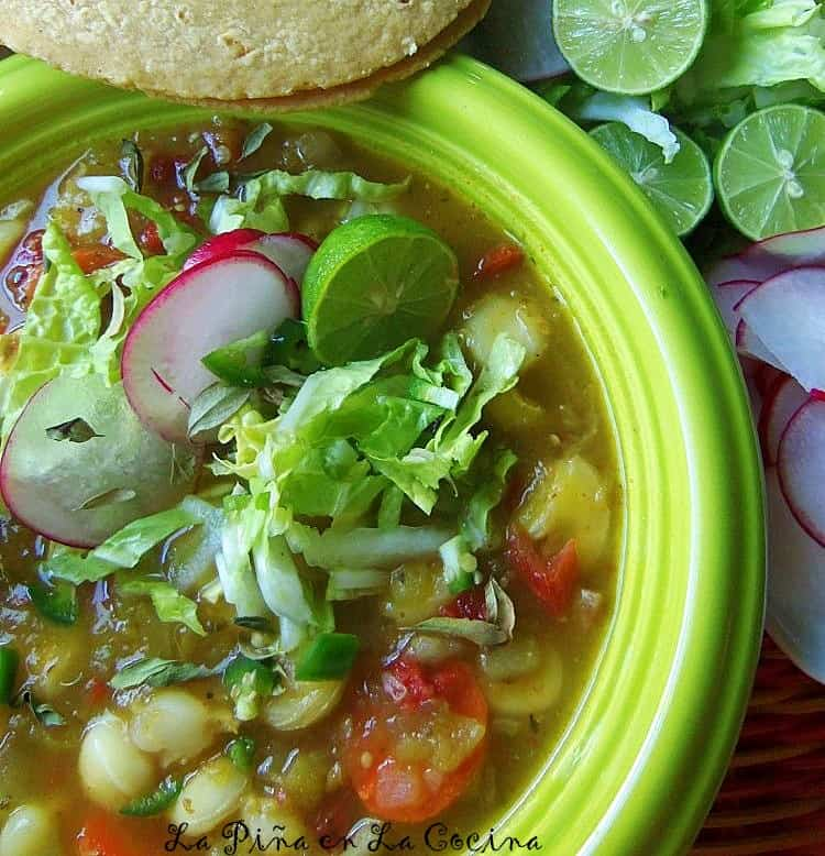 Green Chile Vegetable Pozole