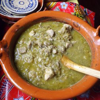 Pork Chile Verde~ With and Without Potatoes