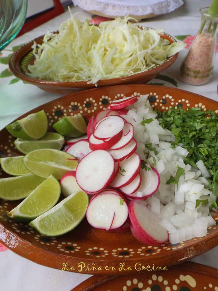 Pozole de Pollo(Chicken Posole)