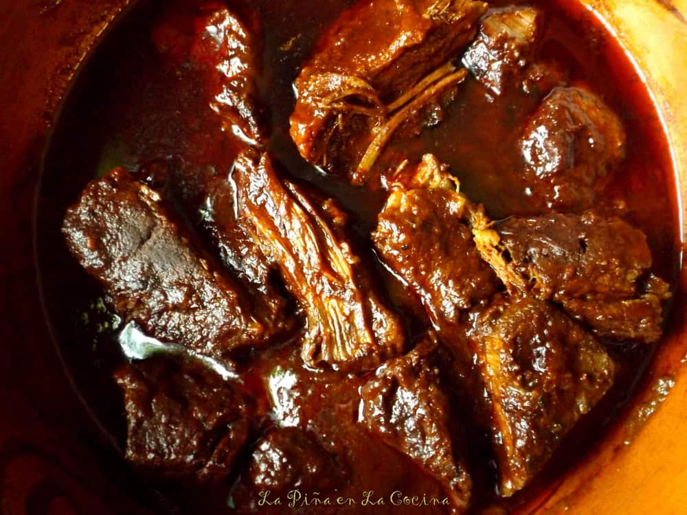 Red Chile Beef Brisket(Falda en Chile Rojo)