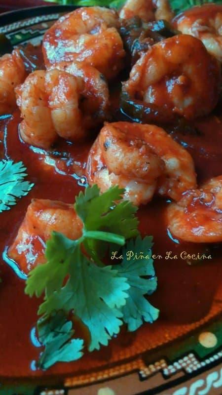 Camarones a La Diabla(Diablo Shrimp)