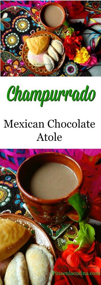 Champurrado (Mexican Chocolate Atole) - La Piña en la Cocina