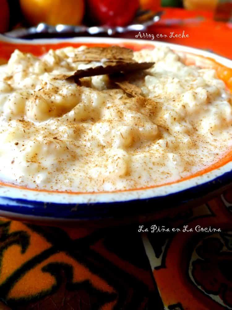 Arroz con Leche(Mexican-Style Rice Pudding) #arrozconleche