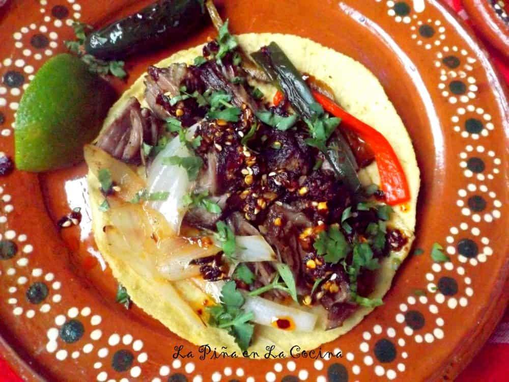 Costillas de Res (Braised Beef Ribs) #tacosdecostilla #beefribtacos