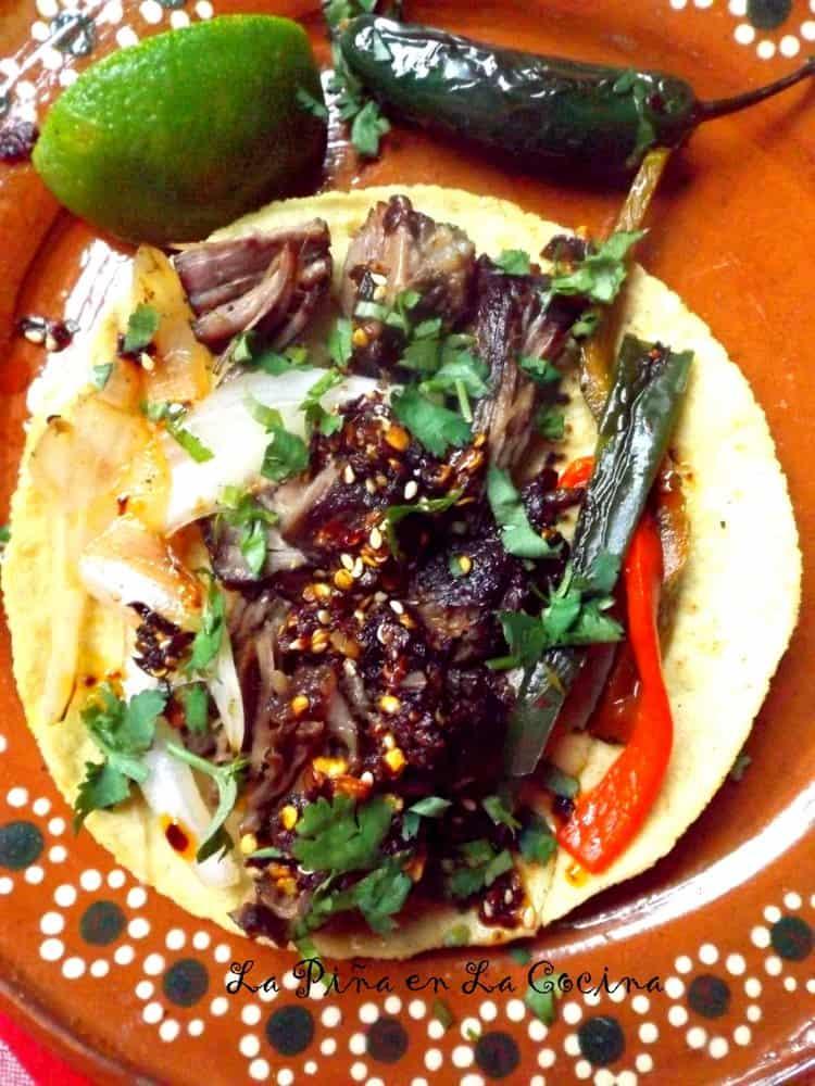 Costillas de Res (Braised Beef Ribs) #tacos #costillasderes #beefribtacos