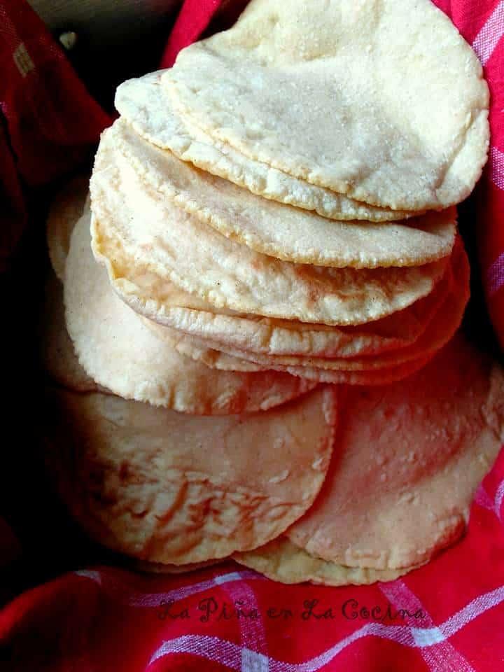 Homemade Corn Tortillas #corntortillas #alpastor