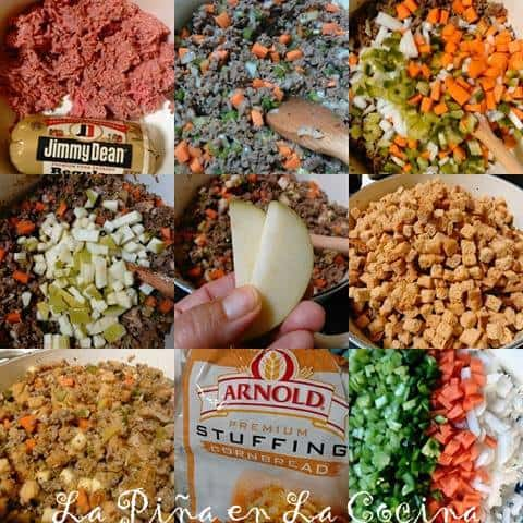 Mom's Thanksgiving Stuffing-Dressing #stuffing #thanksgiving #rellenodepavo