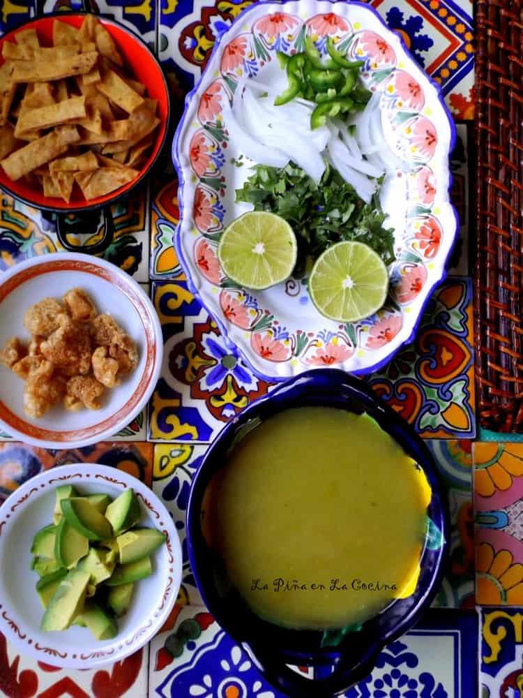 Chileatole Verde(Jalapeño Cilantro Soup) #chileatole #soup