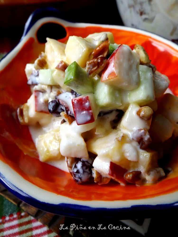 Holiday Fruit Salad-Ensalada de Frutas #ensaladadefrutas