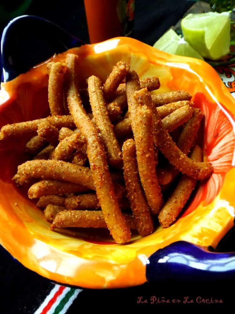 Churritos de Maiz #churritos #antojitos