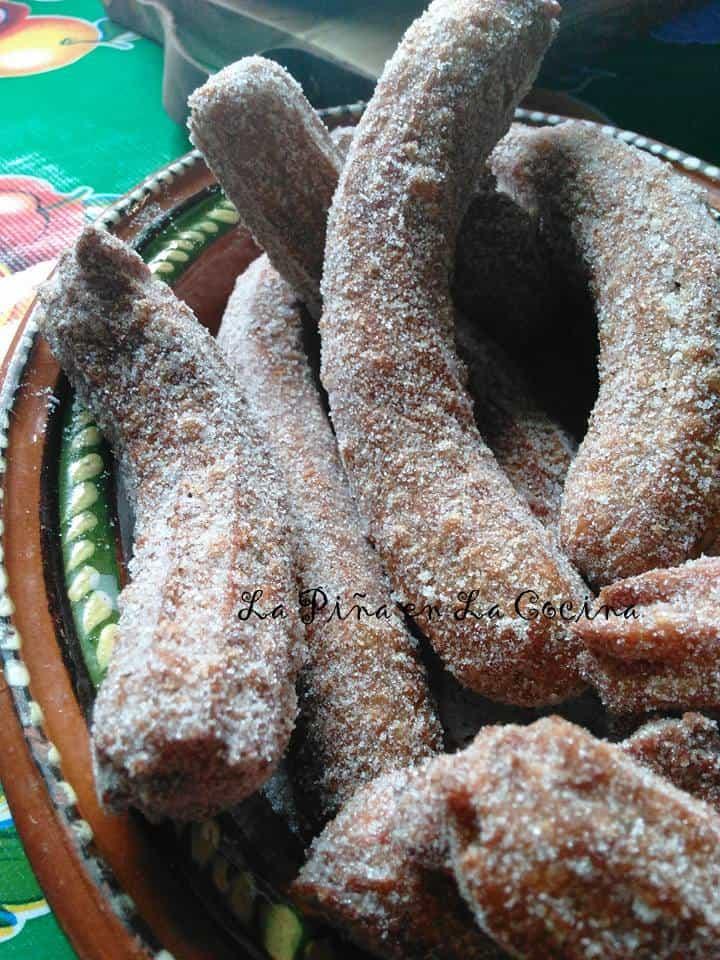 Cinnamon Churros (Churros de Canela) #churros